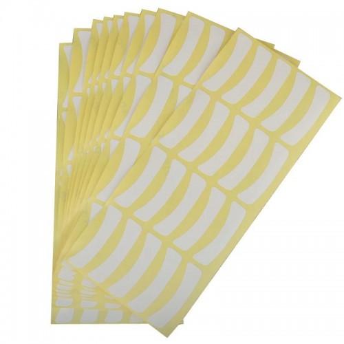 Наклейки для нижних ресниц (10 пар)