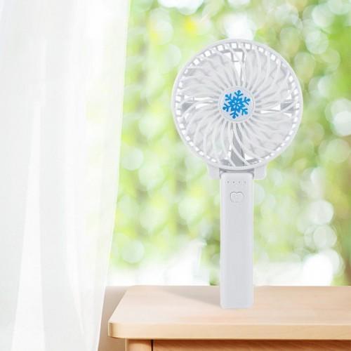 Мини вентилятор белый
